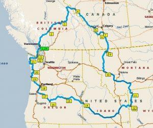 een rondreis Amerika